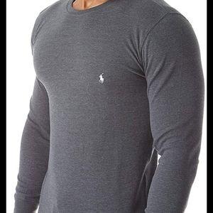 Polo Ralph Lauren men's gray long sleeved thermal